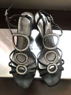 🚚 高跟楔型涼鞋