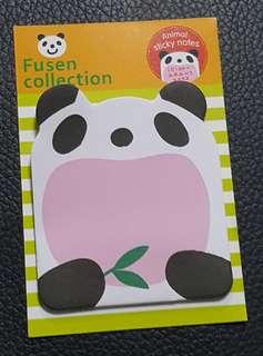 Panda Sticky Notes