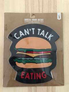 Typo Burger Mousepad