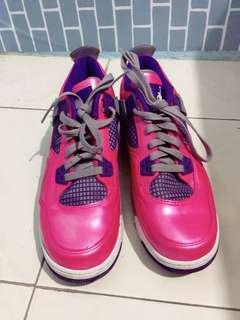 Jordan 4 retro pink Foil