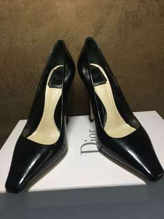 Authentic christian dior high heels