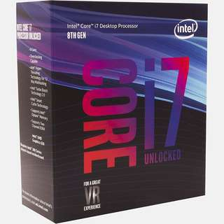 Intel Core i7-8700K Desktop Processor
