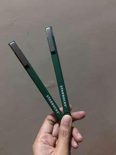 2 Starbucks pen