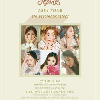 apink fans meeting Hong Kong  粉絲見面會香港門票