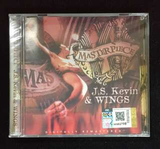 J.S. Kevin & WINGS - Masterpiece CD