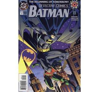 DETECTIVE COMICS #0 (1994) The Beginning of Tomorrow!
