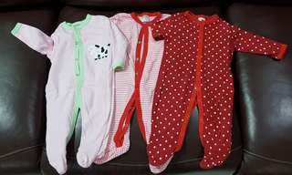 Carter's sleepsuit - 3pc set