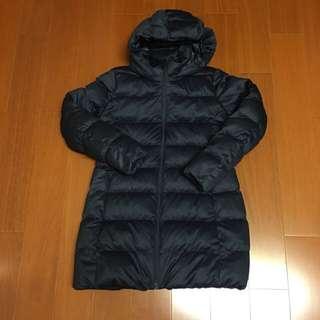 🚚 (Size 女版L) Uniqlo  深藍色羽絨長版外套