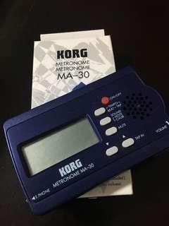 電子拍子機KORG