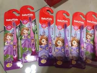 sofia toothbrushes