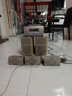 Panasonic Hifi Home Theatre Speaker Set