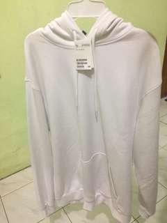 White hoodie H&M