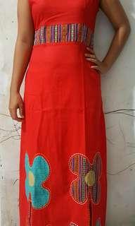 Long Red Dress Yukensi