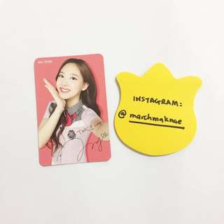 [Various] TWICE x SKOOLOOKS PHOTOCARD VERSION 1