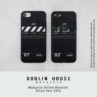 """Off White """"For All"""" iPhone Case"""
