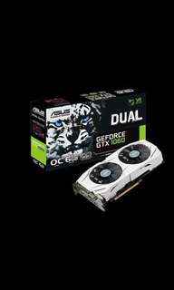 BRAND NEW ASUS Dual Geforce GTX 1060 OC Edition 6GB GDDR5