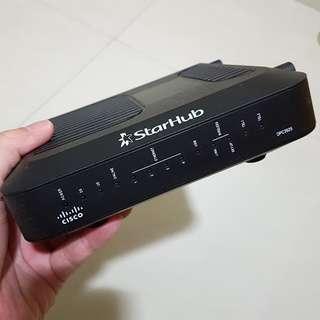 Starhub Cisco DPC3925 Wireless Modem Router.
