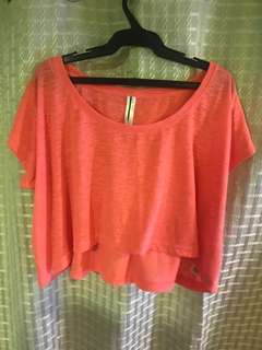 Loose cropped top