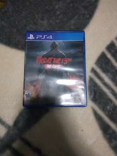 Ps4 Friday the 13th game