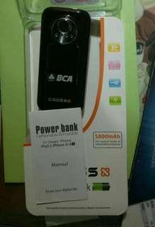 Powerbank cross 5800 mAH