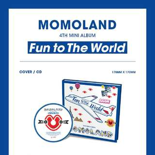 MOMOLAND-Fun To The World [4th Mini Album]