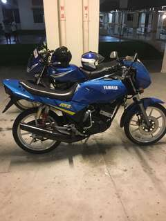 RXZ Energy Biru Coverset