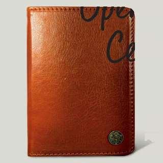 #july70 ⭐️🆕Starbucks® 🇲🇾 Leather Passport Holder