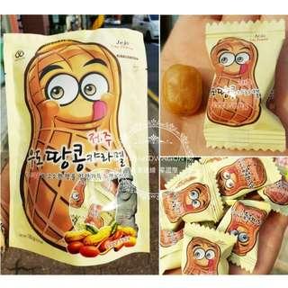 【H.BANDWAGON】韓國 濟州島限定 Jeju花生牛奶糖 ❤️180g*2包 連線 代購