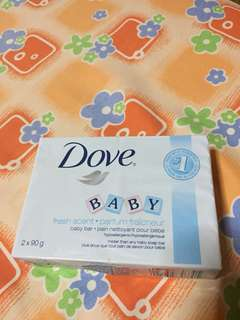 DOVE baby bar soap