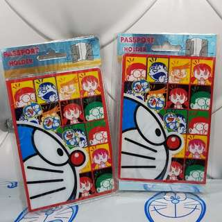 Paspport Holder Sarung Paspor Doraemon