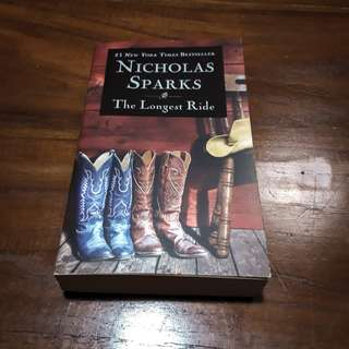 The Longest Ride by Nicholas Sparks (English)