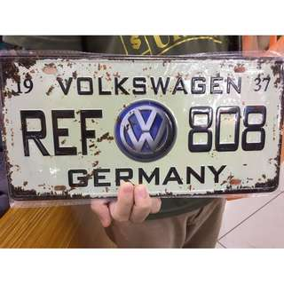 Metal Car Plates