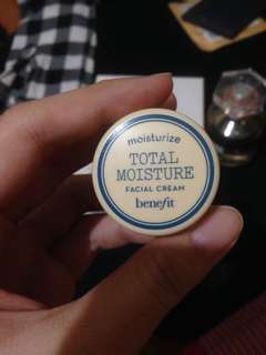Benefit Moisturizer Total Moisture Facial Cream