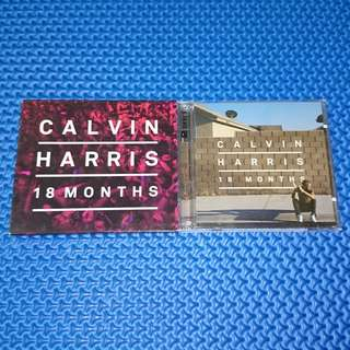 🆒 Calvin Harris - 18 Months (Deluxe Edition) 2CD [2012] Audio CD