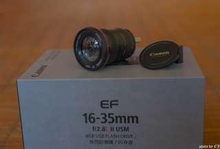 🚚 canon 16-35mm f2.8 L II USM 8GB 隨身碟