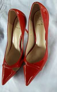 Beney red shoes