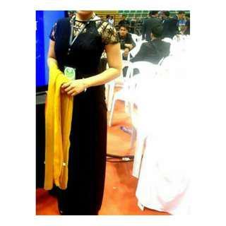 Karimadon Long black elegant gown