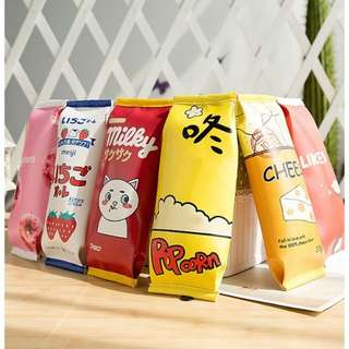 Snack pencil case