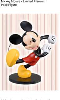 Mickey Mouse premium pose figurine (Japan)