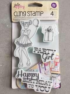 🚚 Julie Nutting Doll stamps
