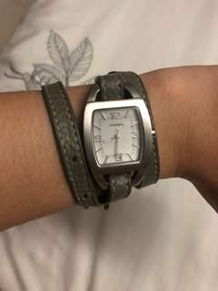 Authentic Fossil face watch
