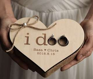 Wedding Ring Pillow / Ring Holder