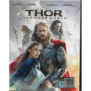 Marvel THOR The Dark World Movie DVD