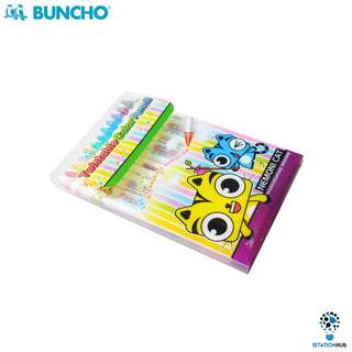 Buncho Twistable Colour Pencil | Pack of 12 [WS-BU-TCP-12]