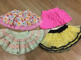 Girls Skirt & Tutu