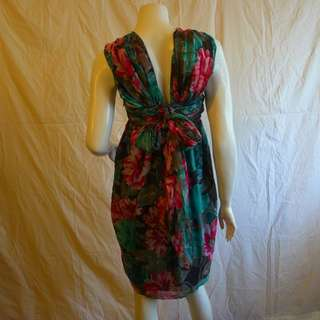 Paul & Joe Fine Silk Chiffon Dress