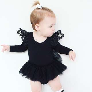 BABY ROMPER DRESS(short hand)