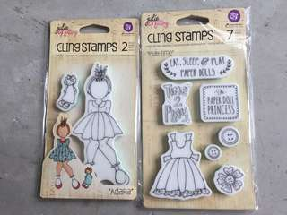 🚚 Julie Nutting Doll stamps