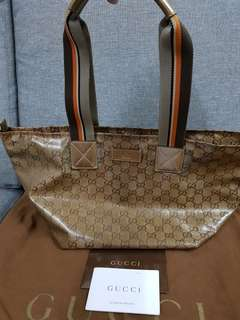 Authentic Gucci Tote Bag