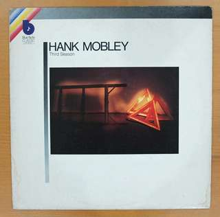 Jazz Vinyl LP: Hank Mobley <Third Season> (Recorded in 1967)